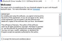 Bluetooth Driver Installer 64-Bit